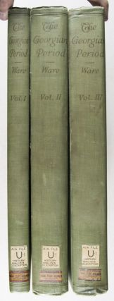 The Georgian Period: Being photographs and measured drawings of Colonial work with text. 6 Parts bound in 3 volumes (Complete) [FROM THE REFERENCE LIBRARY OF GREENSBORO ARCHITECT JOHN FLOY WICKER]