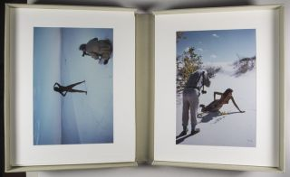 Lucien Clergue at White Sands, 1986 [INSCRIBED] [16 ORIGINAL PHOTOGRAPHS]