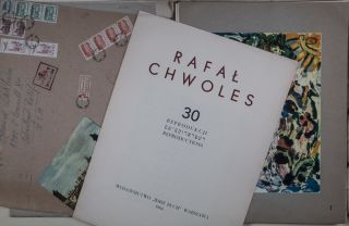 Rafal Chwoles: 30 Reprodukcji / Reproductions [SIGNED & INSCRIBED TO BERNARD ZAKHEIM]