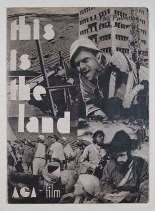 This is the Land: AGA-Film [SIGNED]. Baruch Agadati