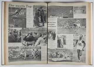 Olympia Zeitung. The complete 30 issue-run, from July 21 to August 19, 1936 [FROM THE PERSONAL LIBRARY OF BRITISH PENTATHLETE ARCHIBALD FREDERICK MACLEAN JACK*]