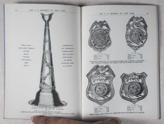 Illustrated Catalogue of Fire and Police Department Badges