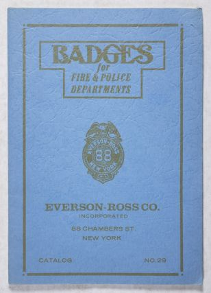 Badges for Fire & Police Departments. n/a