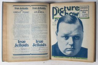 The Picture Show, Volume 1, Nos. 1-26, May 3rd to October 25th 1919 (Issue Nr. 4 missing, as well as the art plate supplement in issue Nr. 18)