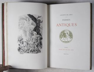 Poèmes Antiques [FROM THE PRIVATE LIBRARY OF JULES CLARETIE*]