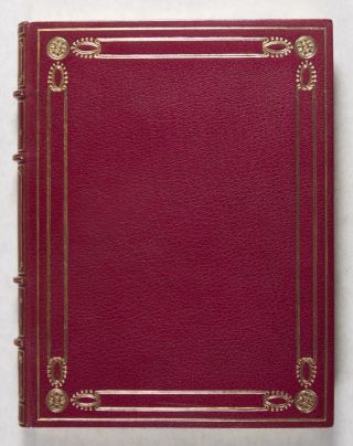 Les Bains de Bade [BINDING SIGNED BY CHARLES MEUNIER. ONE OF 25 COPIES ON JAPAN PAPER, WITH PLATES IN TWO STATES]