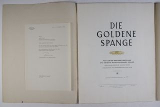 Die Goldene Spange: Wie sich der Feldwebel Bergmann die Goldene Nahkampfspange erwarb [WITH 15 ORIGINAL LITHOGRAPHS HAND-SIGNED BY OTTO CLEVÉ, A SOLDIER IN THE WEHRMACHT DURING THE CAMPAIGN ON THE EASTERN FRONT]