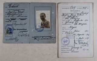 German Film Actor Fritz Eckert Killed at Mauthausen [INCLUDING SIGNED PHOTOGRAPHS AND PHOTO-POSTCARDS]