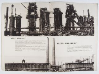 The USSR In Construction No. 1, January 1932: Magnetostroi, the Giant and the Builder