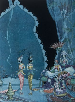 Arabian Nights. Hildegarde Hawthorne, Virginia Frances Sterrett, ill