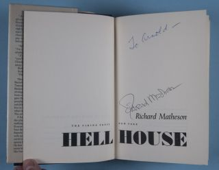 Hell House [SIGNED & INSCRIBED]
