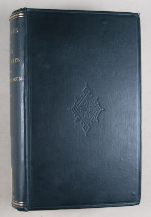Catalogue of the Stowe manuscripts in the British museum: Vol. 1, Text; Vol. 2, Index. 2-vol. set (Complete)