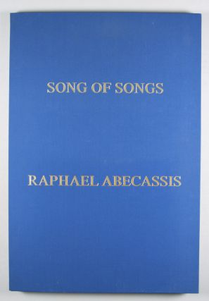 Song of Songs: Eight Original Serigraphs [SIGNED]. Raphael Abecassis, Serigraphs