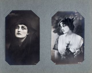 Photo-Postcard Album of Actress and Filmmaker Fern Andra [INCLUDING 27 IMAGES]. n/a