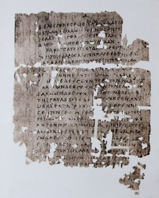 The Oxyrhynchus Papyri. Part 1 & 2. Bernard P. Grenfell, Arthur S. Hunt