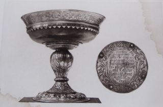 Old Scottish Communion Plate [NUMBERED AND SIGNED BY THE AUTHOR]