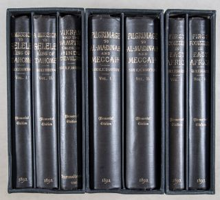 The Memorial Edition of the Works of Captain Sir Richard F. Burton. 7 Vols. (Boxed and In fine condition)