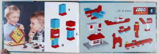 Collection of 5 LEGO SYSTEM Promotion Pamphlets, Brochures, and Instructional Guides [GERMAN]