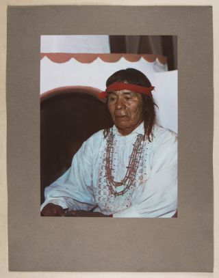 Pueblo Indians of New Mexico as They Are Today: Twenty Photographs In Color [INSCRIBED]