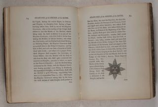 Statutes of the Most Honourble Order of the Bath [SIGNED]