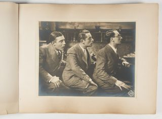"""Photo Album of Stills From the Films, """"Le Chemin du Paradis"""" (The Road to Paradise) and """"Le Congres S'amuse"""" (The Congress is Amused)"""