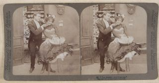 Mr. and Mrs. Newlywed's New French Cook #7253. Complete set of 10 Stereoviews. n/a