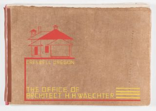 The Office of Architect H. H. Waechter (Mock-up for an Unpublished Architectural Office Prospectus)
