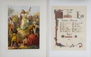 Twelve Parables of Our Lord, Illustrated and Illuminated. n/a.