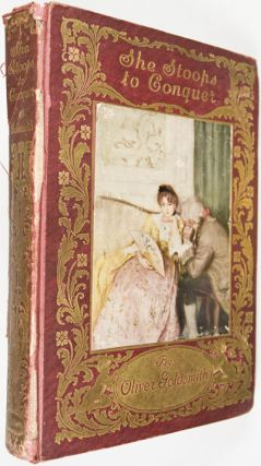 She Stoops to Conquer. A Comedy by Dr. Goldsmith with Drawings by Edwin A. Abbey.; Decorations by Alfred Parsons, introduction by Austin Dobson.
