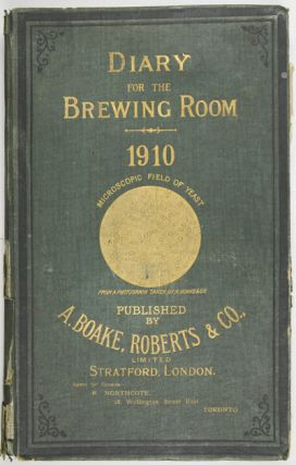 Diary for the Brewing Room. Harold Harman.