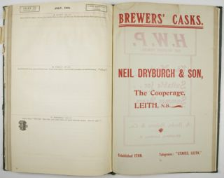 Diary for the Brewing Room